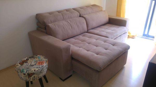 Pé de Sofá - Depoimento do cliente Bruna G. sobre o seu sofá Zanin