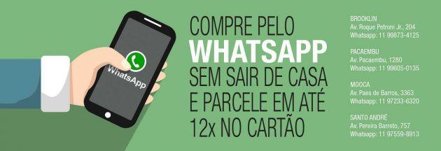 Compre sem sair de casa pelo WhatsApp