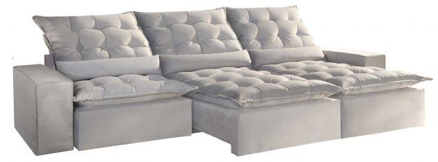 Sofá Montano Monster Pillow Retrátil e Reclinável